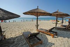 海湾海滩萨尼亚yalong 库存图片