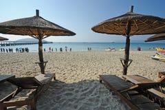 海湾海滩萨尼亚yalong 图库摄影