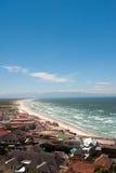 海湾海滩阵营开普敦 免版税库存照片