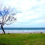 海湾海滩byron 库存图片