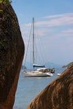 海湾海滩paraty热带 库存图片