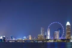 海湾海滨广场铺沙新加坡 免版税库存照片