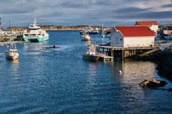 海湾渔和轮渡 免版税库存照片