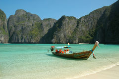 海湾玛雅人泰国 免版税库存照片