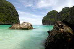 海湾玛雅人泰国 免版税库存图片