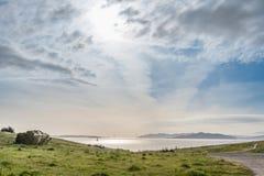 海湾的看法 图库摄影