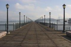 海湾码头 免版税库存图片