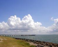 海湾码头 免版税库存照片