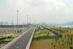 海湾端口深圳 免版税库存照片