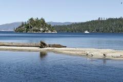 海湾绿宝石Tahoe湖 免版税图库摄影
