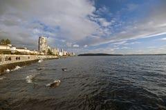 海湾西方英国的温哥华 免版税库存图片