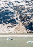 海湾覆盖在公园的冰川山国家海洋 库存照片
