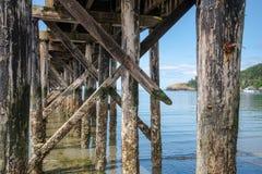 海湾通过船坞 库存照片