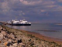 海湾里斯本seixal的葡萄牙 免版税库存图片