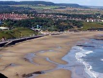 海湾风景北部的scarborough 库存图片