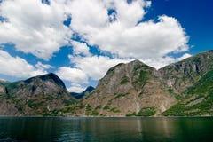 海湾风景的挪威 库存图片