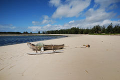 海湾马达加斯加sakalava 免版税库存照片
