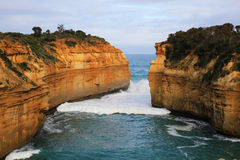 海湾Ard峡谷,澳大利亚 库存照片