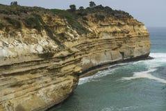 海湾Ard峡谷1,十二位传道者,大洋路,南维多利亚 免版税图库摄影