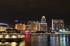 海湾distric海滨广场新加坡 免版税图库摄影