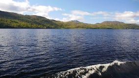 海湾Katrine,苏格兰高地 股票录像