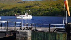 海湾Katrine,苏格兰高地 影视素材