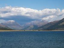 海湾Linnhe和本尼维斯岛,苏格兰 免版税库存照片