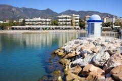 海湾marbella 库存图片