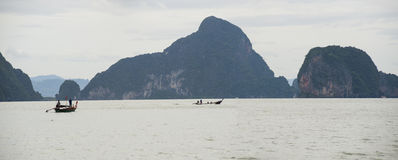 海湾nga phang 免版税图库摄影