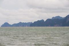 海湾nga phang 库存照片