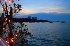 海湾pattaya 库存图片