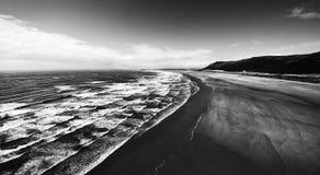 海湾rhossili 库存图片
