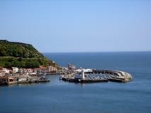 海湾scarborough南英国 免版税库存照片