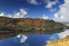 海湾shiel,苏格兰,风景,山 库存照片