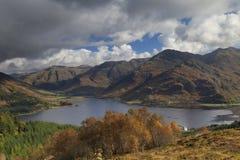 海湾shiel,苏格兰,风景,山 免版税库存图片