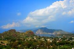 海湾vulcano 图库摄影
