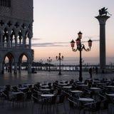 海滨广场威尼斯 免版税库存照片