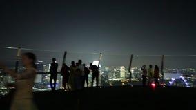 海滨广场海湾铺沙SkyPark 股票视频