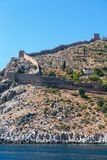 海滨的古老堡垒 免版税库存照片