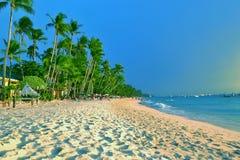 海滨,博拉凯海滩线,马来语,阿克兰省 库存照片