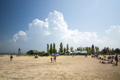 海滨 图库摄影