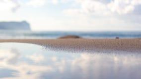 海滩一点 免版税库存图片