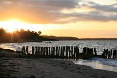 海滩丹麦 库存照片