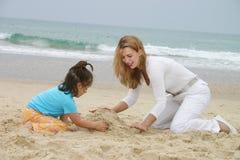 海滩乐趣 库存图片