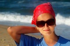 海滩乐趣 免版税库存照片