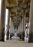 海滩亨廷顿 库存图片