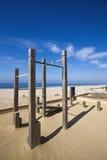 海滩体操 库存照片