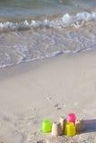 海滩佛罗里达沙子 库存图片