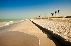 海滩佛罗里达sanibel 免版税库存照片