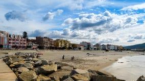 海滩使用 图库摄影